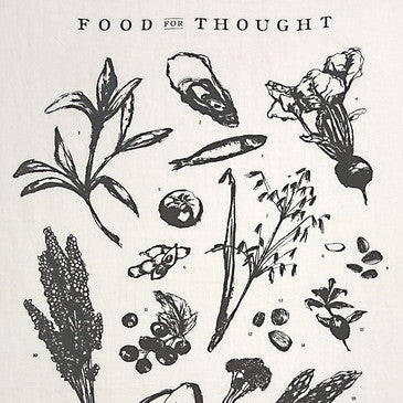 Sir Madam Food For Thought Tea Towel - Hand Towels - Shop Nectar - 2