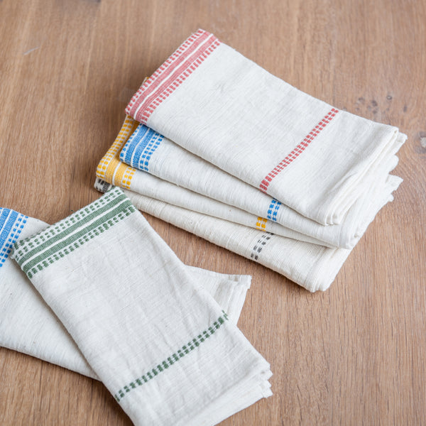 Fair Trade Stripes Napkins - Napkins - Shop Nectar