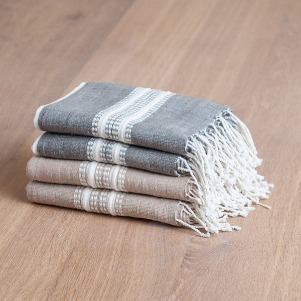 Fair Trade Striped Turkish Hand Towels - assorted-styles, bath, bath-beauty, bathroom, cotton, Creative Women, Ethiopia, fair-trade, Hand Woven, hand-towels, handmade, kitchen-dining, organic, supporting-women, table-linens, Turkish Towels