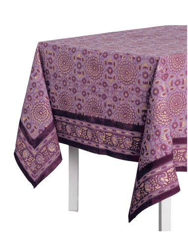 Fair Trade Metallic Garden Tablecloths