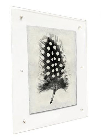 Roy Barloga Wispy Feather Print Study 7 - american-made, art, assorted-styles, bohemian-chic, Boho Chic, decor, fair-trade, feathers, handmade, photography, Roy Barloga