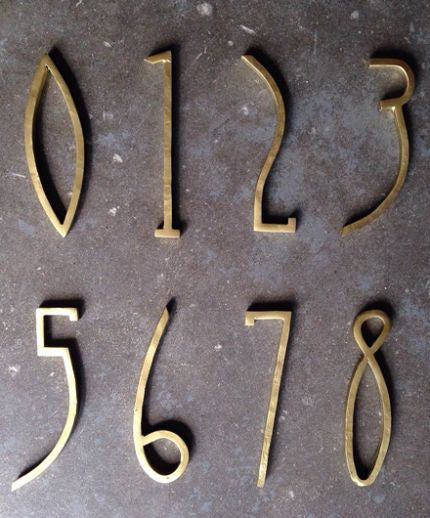 Pictures house numbers