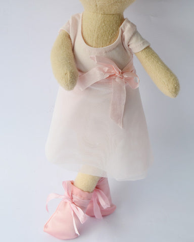 Hazel Village Ballet Outfit - Ballet, cotton, dolls, dolls-stuffed-animals