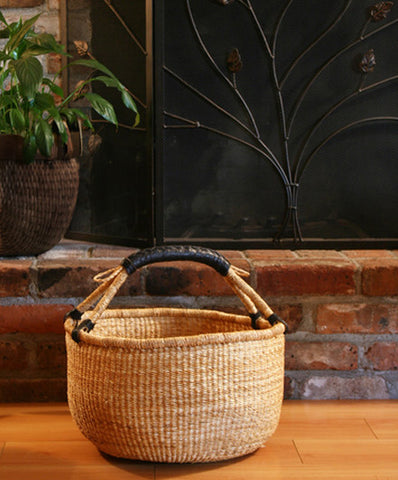 Basic Bolgatanga Shopper Basket - Baskets - Shop Nectar - 2