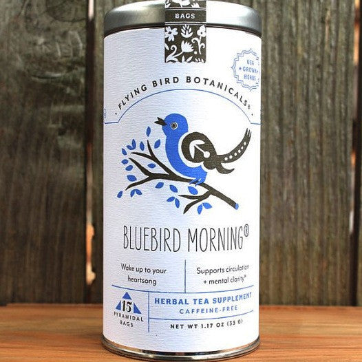 Flying Bird Botanicals Bluebird Morning Tea - Bagged Tea - Shop Nectar - 1
