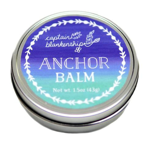 Captain Blankenship Organic Anchor Balm - american-made, bath, bath-beauty, beauty, body, Captain Blankenship, care, gift, gifts, her, Hudson Valley, mothers, organic, salves, shop locally, skin, skincare, soaps-lotions-creams, Upstate NY