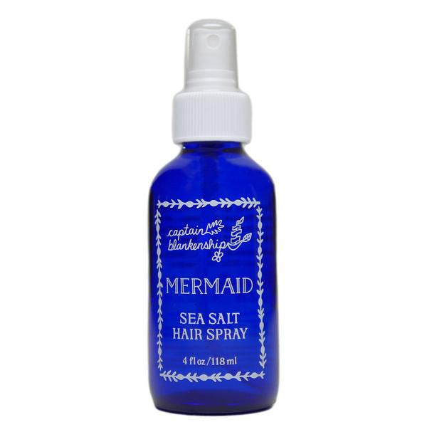 Captain Blankenship Organic Mermaid Sea Salt Hair Spray - american-made, bath, bath-beauty, beauty, beauty-hair-care, body, Captain Blankenship, care, day, gift, gifts, hair-care, her, mothers, organic, skin, skincare
