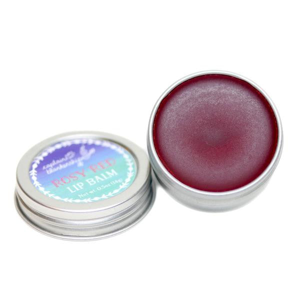 captain blankenship rosy red lip balm