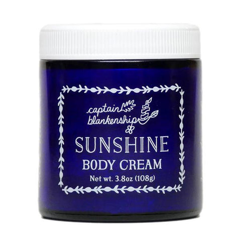 Captain Blankenship Organic Sunshine Body Cream - american-made, bath, bath-beauty, beauty, beauty-hair-care, body, body-lotions, Captain Blankenship, care, day, gift, gifts, gifts-for-her, gifts-for-the-occasion, her, mothers, organic, skin, skincare, soaps-lotions-creams