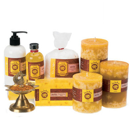 Lotus Love Beauty Ananda Citrus & Saffron Bath Collection - Gift Sets - Shop Nectar - 2