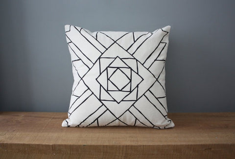 Little Korboose Colorado Organic Cotton Pillow - american-made, bedding-textiles, cotton, decor, decorative, decorative-pillows, home, Minimalist, organic, pillow, pillows, pillows-throws, social-responsibility
