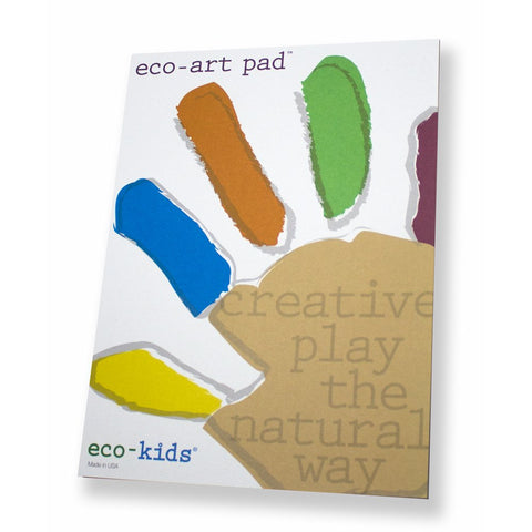 Eco Kids Recycled Art Pad - american-made, coloring-craft-books, Eco Kids, green, kids-books, organic, Sustainable