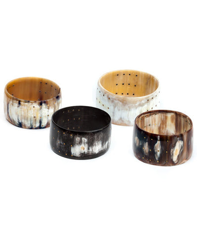Fair Trade Cow Horn Iota Cuff Bracelet - accessories, africa, african, assorted-styles, bohemian-chic, Boho Chic, Bracelets & Cuffs, bracelets-bangles-cuffs, brass, cuffs, day, eco, fair-trade, gift, gifts, handmade, her, Horn, jewelry, Kenya, mothers, sustainably, sustainably harvested