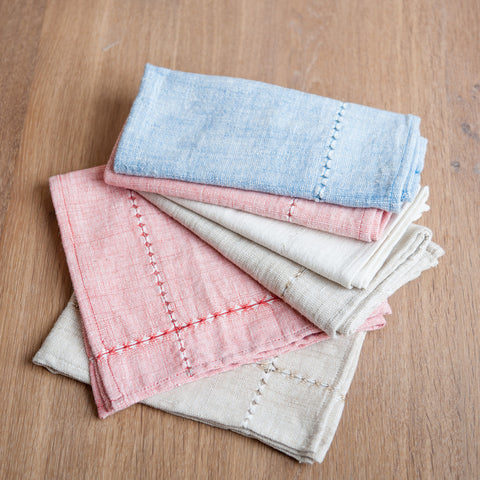 Fair Trade Pulled Cloth Napkins - Napkins - Shop Nectar