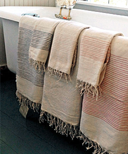 Fair Trade Ribbed Riviera Turkish Hand Bath Towels Shop Nectar