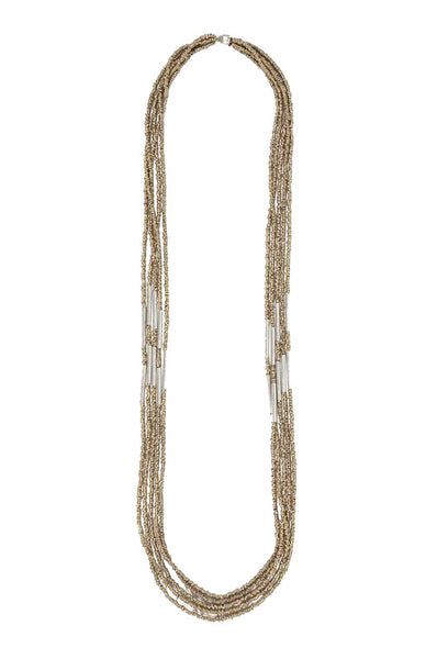 Raven and Lily Fair Trade Multi Strand Long Necklace - Necklaces - Shop Nectar - 1