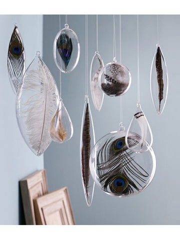 Roost Floating Feather Ornaments - Hanging Ornaments - Shop Nectar - 1