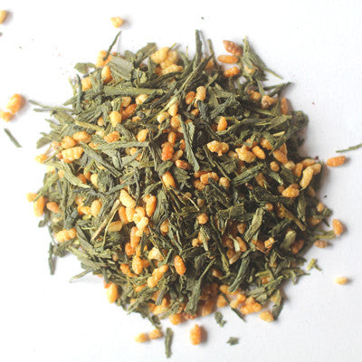 """Genmaicha"" Loose Leaf Tea - caffeinated, coffee-teaware, day, Divinitea, Gift, gifts, green tea, kitchen-dining, loose-leaf-tea, mothers, organic, Staff Picks : Sweets & Savories, sweets-savories, tea"