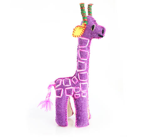 Twoolies Handmade Fair Trade Wool Giraffe - Stuffed Animals - Shop Nectar - 1