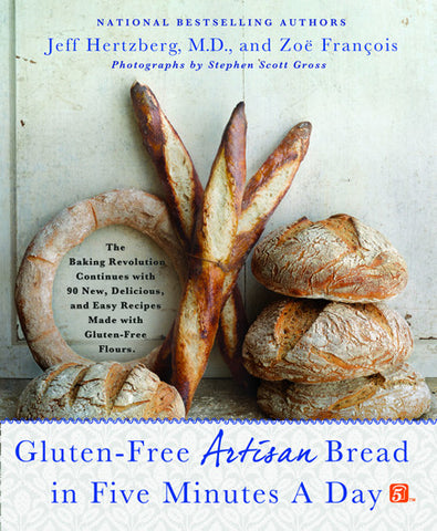 Gluten-Free Artisan Bread in Five Minutes a Day - Cookbooks - Shop Nectar