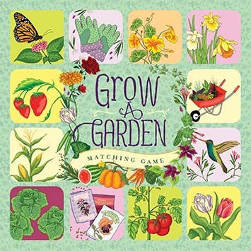 Grow a Garden Matching Game - Games - Shop Nectar