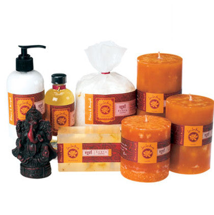 Lotus Love Beauty Surya Hibiscus & Marigold Bath Collection - Gift Sets - Shop Nectar - 2