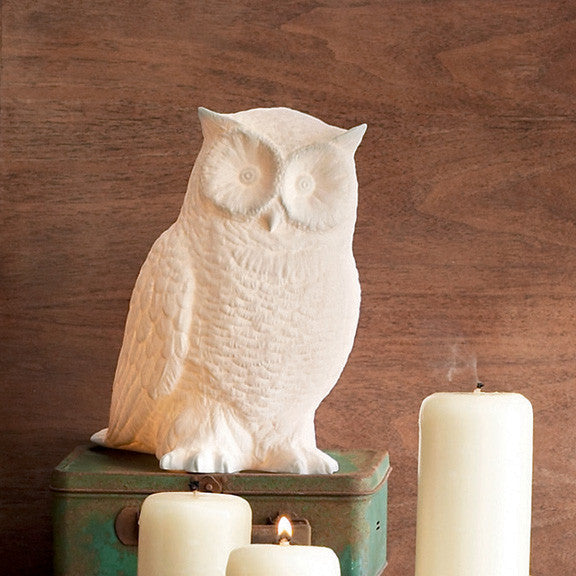 Roost Great Horned Owl Lamp - Kids Lamps - Shop Nectar