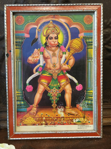 Ram Bhakt-Antique Indian Devotional Art Print - Paintings & Prints - Shop Nectar - 1