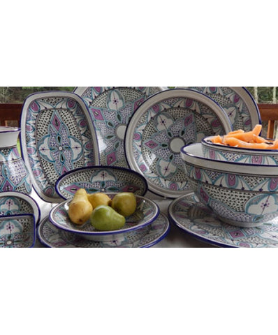 Tunisian Malika Dishware Collection - Dishware Sets - Shop Nectar - 1