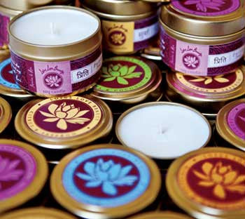 Lotus Love Beauty Surya Hibiscus & Marigold Bath Collection - Gift Sets - Shop Nectar - 3