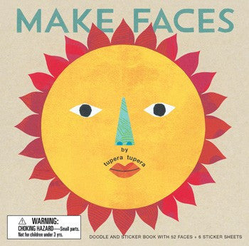 Make Faces Art Kit - Coloring & Craft Books - Shop Nectar