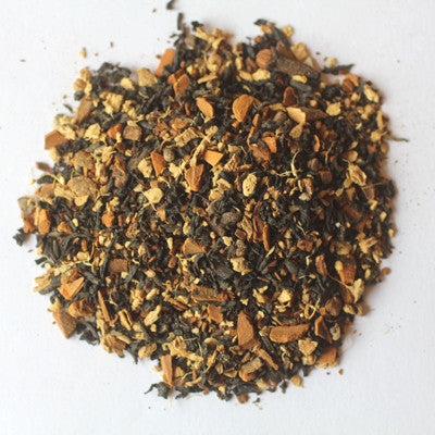 "Organic ""Mandarin Chai"" Loose Leaf Tea - caffeinated, Chai, coffee-teaware, Divinitea, Gift, kitchen-dining, loose-leaf-tea, non caffinated, organic, Staff Picks : Sweets & Savories, sweets-savories, tea"
