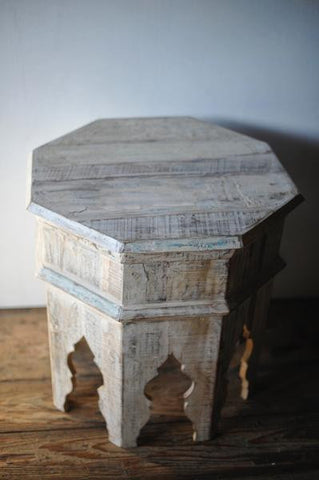 Moorish Wooden Reclaimed Octagonal Table