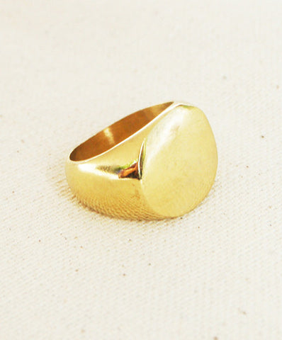 Meyelo Fair Trade Brass Chira Ring - Rings - Shop Nectar - 2