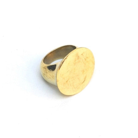 Meyelo Fair Trade Zuri Brass Ring - accessories, assorted-styles, bohemian-chic, Boho Chic, brass, clean-water, day, Eco, eco-friendly, education, fair-trade, gift, gifts, gifts-for-her, gifts-for-the-occasion, her, jewelry, metal, mothers, rings, staff-picks-jewelry, supporting-women