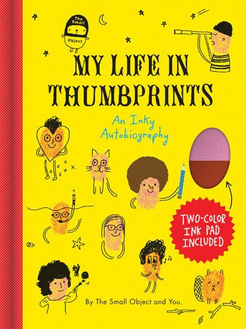 The Small Object: My Life in Thumbprints - coloring-craft-books, kids-books, The Small Object, thumbprint art