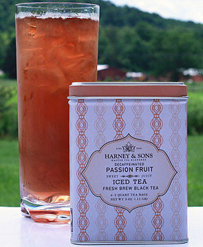 Harney & Sons Passion Fruit Iced Tea - bagged, bagged-tea, Ceylon, coffee-teaware, day, days, dining, fathers, for him, gift, gifts, Harney and Sons, Holiday, holidays, home, kitchen, kitchen-dining, mother, mothers, passion fruit, relax, relaxing, soothing, sweets-savories, tea, Tea Bags, teas, tin, tins