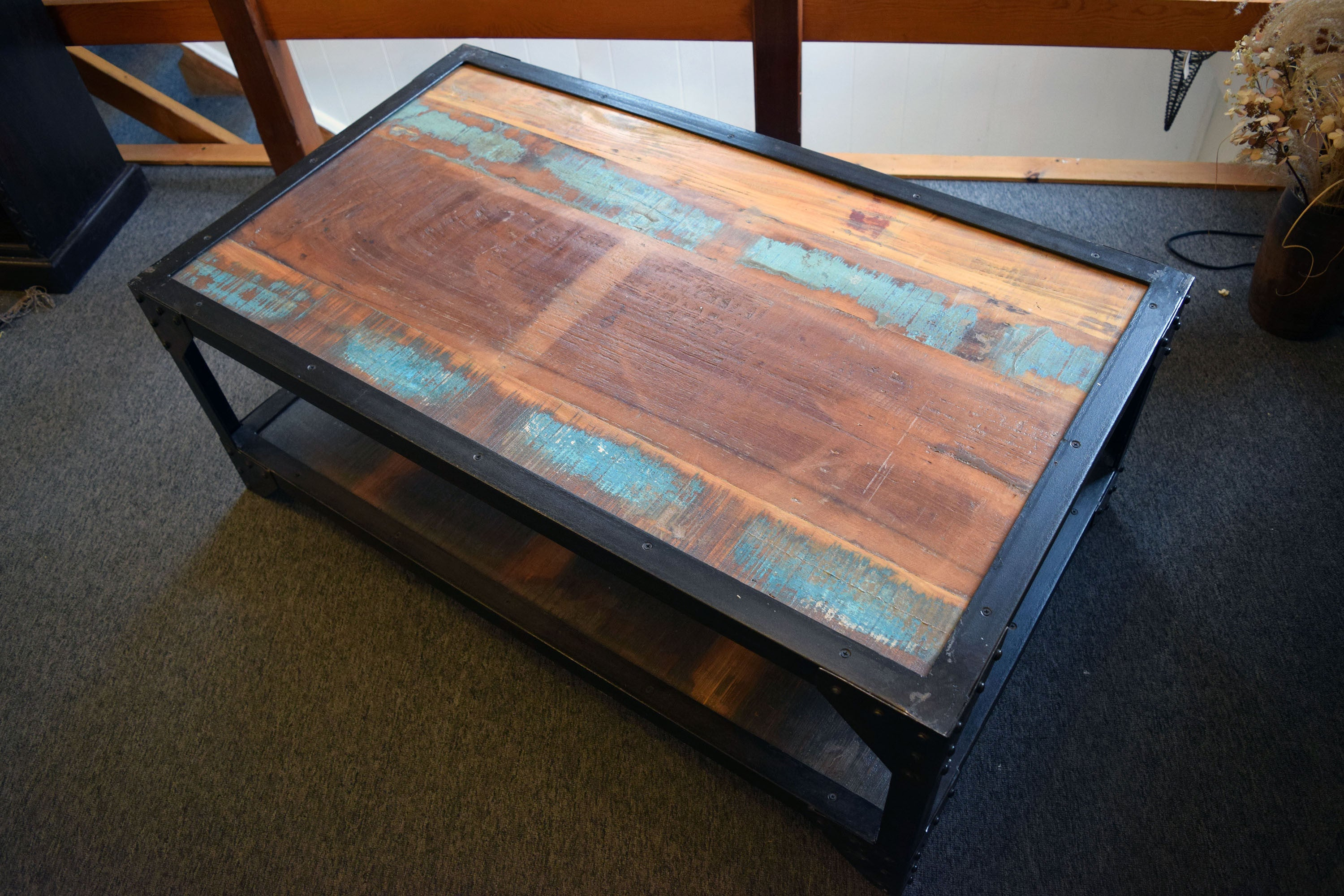 Industrial Patchwork Coffee Table