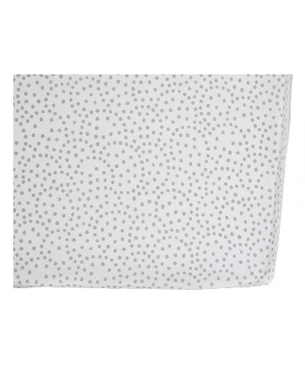 Pehr Grey Dots Crib Sheet - baby-shower-gifts, crib-sheets, gifts-for-the-occasion, grey, newborn, organic-cotton, Pehr
