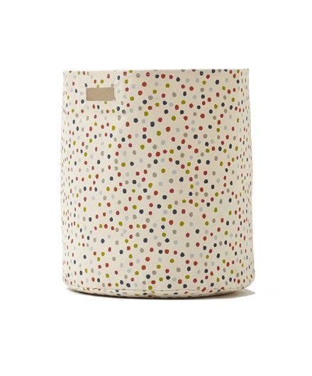 Pehr Large Multi-Dot Hamper - Kids Bins - Shop Nectar