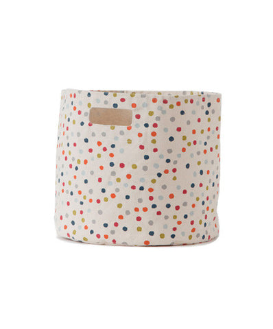 Pehr Pint Sized Multi-Dot Hamper - Kids Bins - Shop Nectar