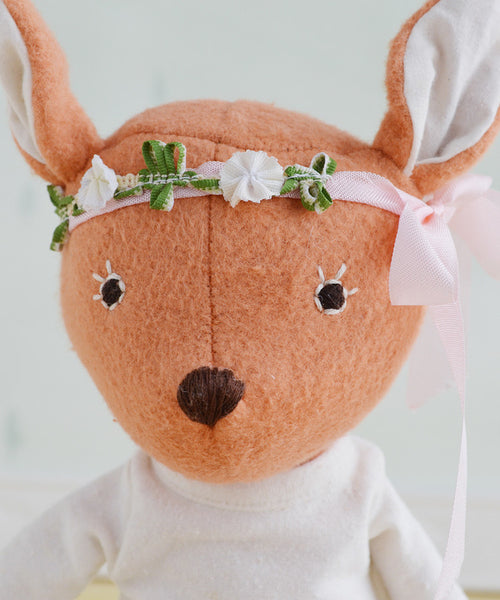 Hazel Village Phoebe Fawn - baby-shower-gifts, dolls, dolls-stuffed-animals, Hazal, hazal village, Odds & Ends, organic, organic-cotton, Rabbit