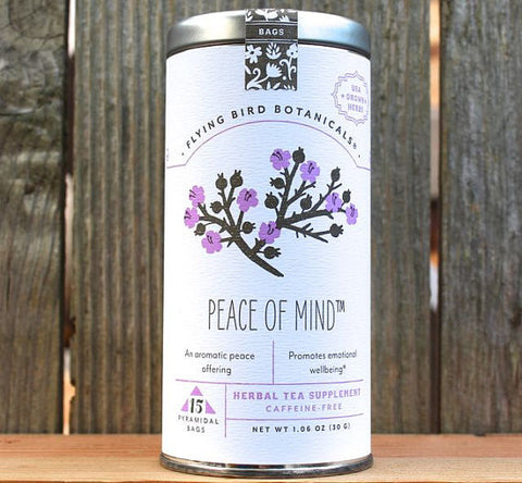 Flying Bird Botanicals Peace of Mind Tea - Bagged Tea - Shop Nectar - 1