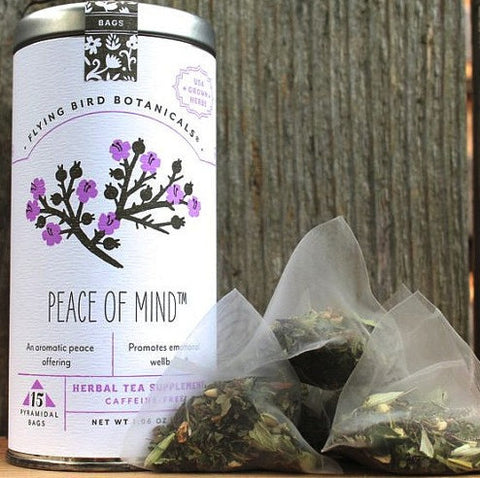 Flying Bird Botanicals Peace of Mind Tea - Bagged Tea - Shop Nectar - 2