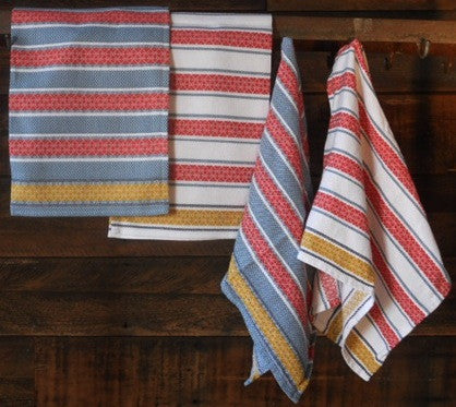 Fair Trade Portuguese Cotton Dish Towel - assorted-styles, bath, Bath Set, Bitters Co, cotton, Dish Towels, fair-trade, Hand Towel, Hand Woven, hand-towels, handmade, Jacquard, kitchen-dining, Portugal, table-linens
