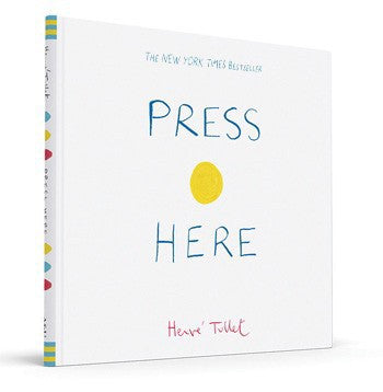 Press Here - early-learning-books, kids-books