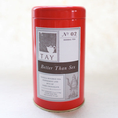 "Tay Tea ""Better Than Sex"" Loose Leaf Blend - assorted-styles, coffee-teaware, gifts-for-her, gifts-for-the-occasion, herbal, kitchen-dining, loose-leaf-tea, organic, sweets-savories, Tay Tea, tea"