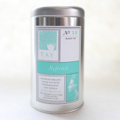 "Tay Tea Organic ""Queen Nefertiti"" Loose Leaf Blend - assorted-styles, black tea, caffeinated, coffee-teaware, kitchen-dining, loose-leaf-tea, organic, sweets-savories, Tay Tea, tea"