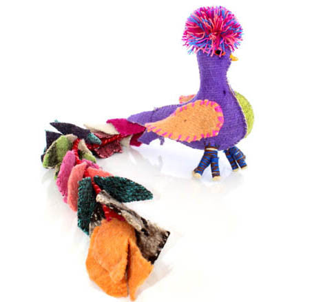 Twoolies Handmade Fair Trade Wool Quetzal - Stuffed Animals - Shop Nectar - 3