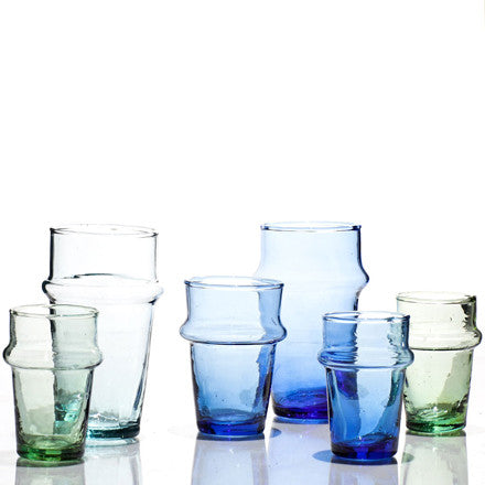 Canvas Home Recycled Moroccan Tea Glasses - Tea Glasses - Shop Nectar - 1
